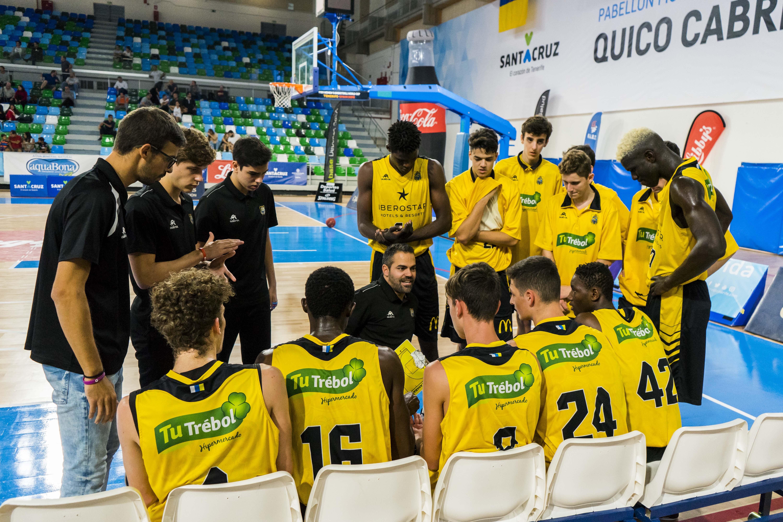Gran papel el firmado por el júnior canarista en el prestigioso Torneo Internacional U18 Santa Cruz de Tenerife